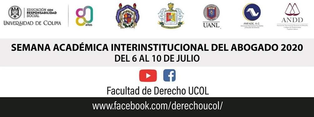 Semana Académica Interinstitucional del Abogado 2020