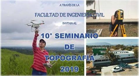10 Seminario de Topografía 2019